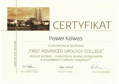 Urolog Certyfikat Poznań (14)
