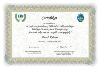 Urolog Certyfikat Poznań (8)