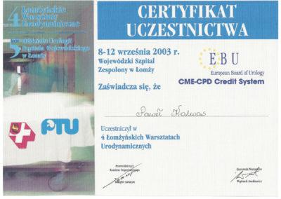 Urolog Certyfikat Poznań (9)